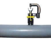 Düsenmontage auf PVC Rohr