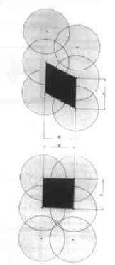 Sprühdüsenradius